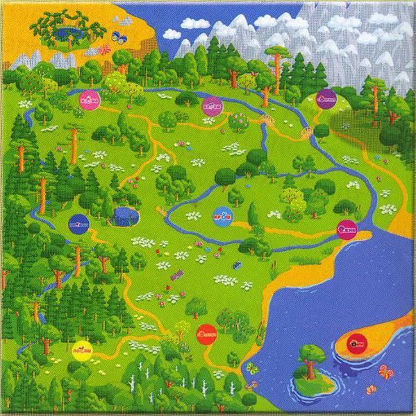 Картинки для детей для карты местности