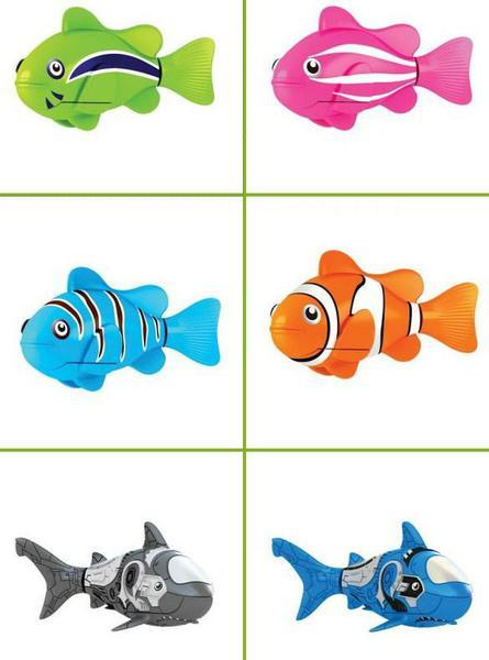 Рыбки роботы RoboFish - лучший подарок не только для детей, но и взрослых. Купить робо рыбки в Украине. Купить робо рыбки в России.