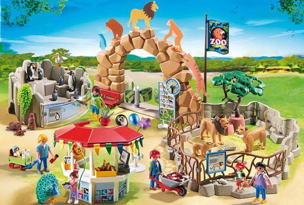 Новый <b>зоопарк Playmobil</b>: зверинец у вас дома!