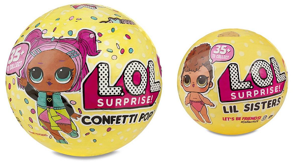 L O L Surprise серия 3 Confetti Pop старшие и младшие
